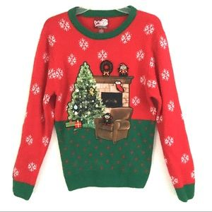 "Super cute ""ugly"" Christmas sweater S"